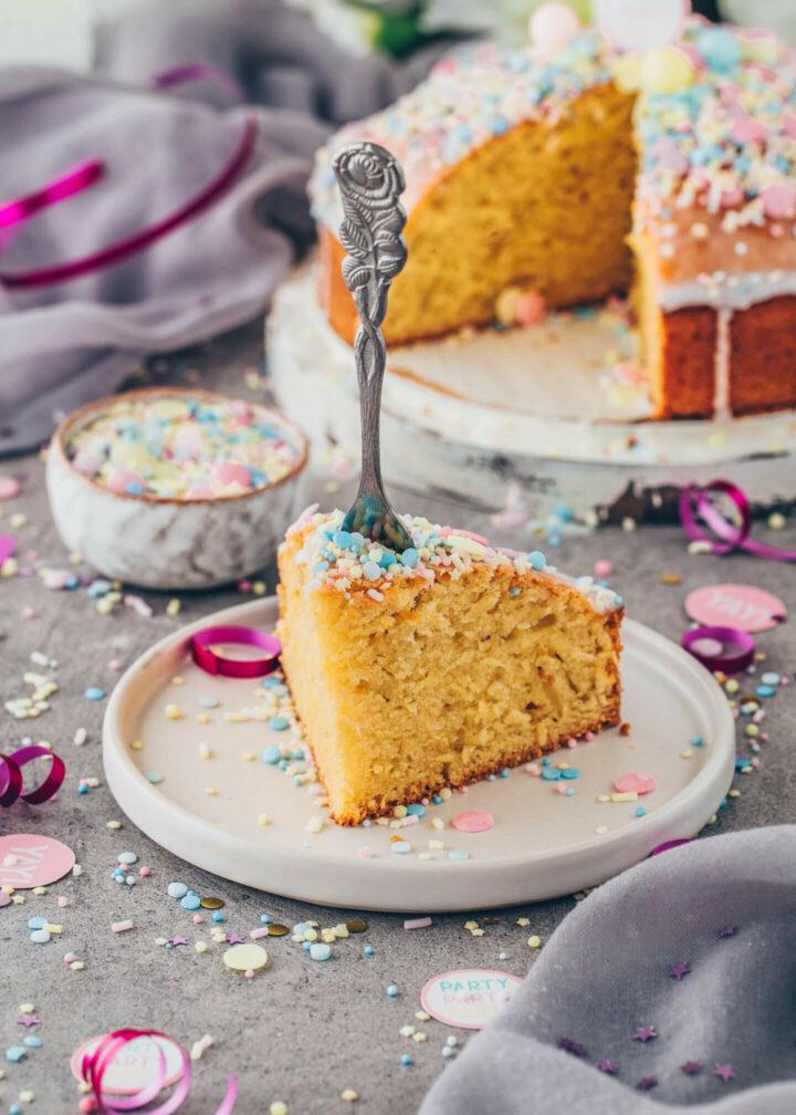 Funfetti Lemonade Cake