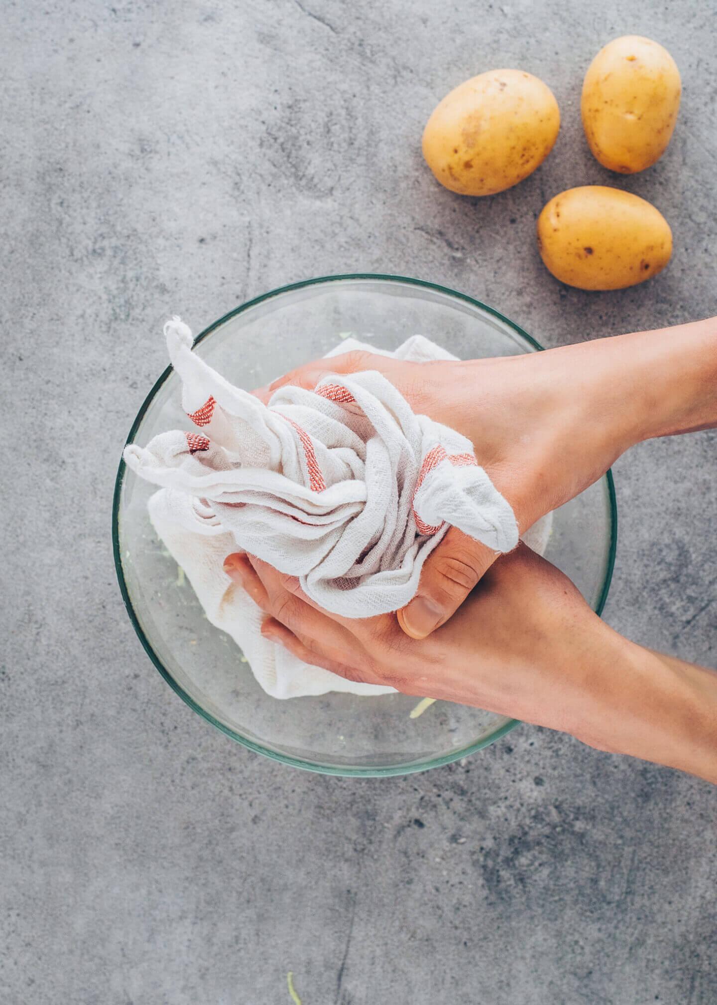 Kartoffelpuffer, Reibekuchen selber machen (einfach, vegan, lecker)