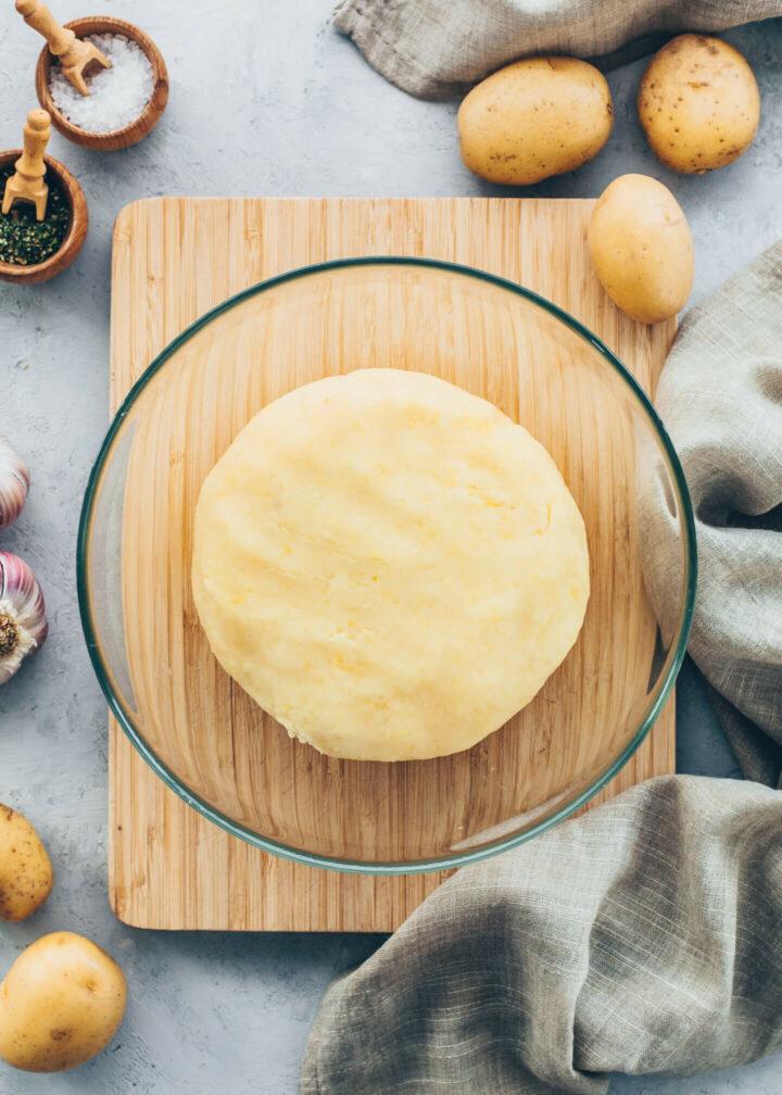 Potato Dough for Gnocchi, Dumplings