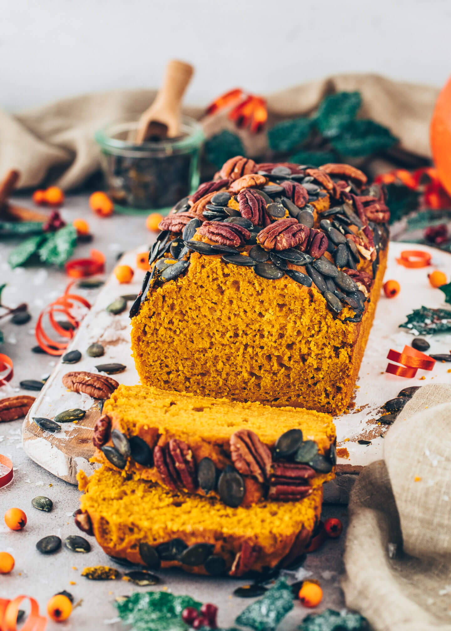 Best Vegan Pumpkin Bread