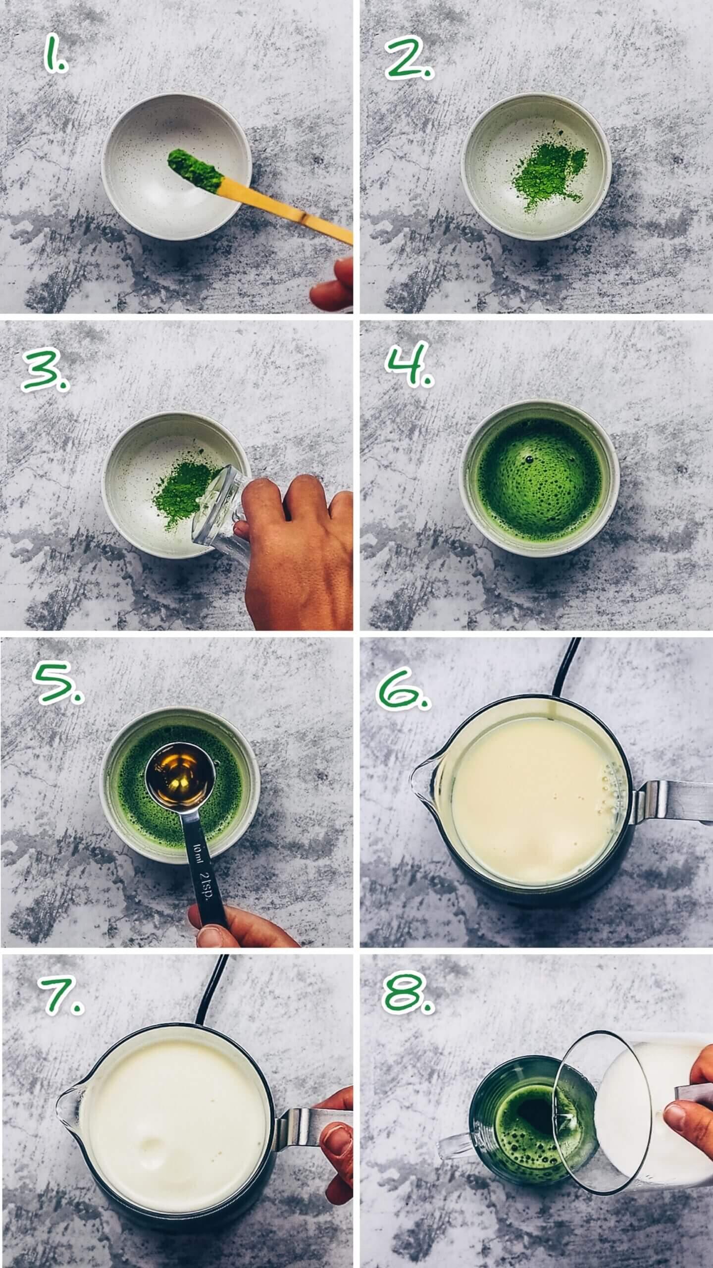How to make Matcha Latte
