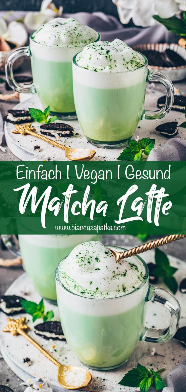 Matcha Latte (Grüntee Latte)