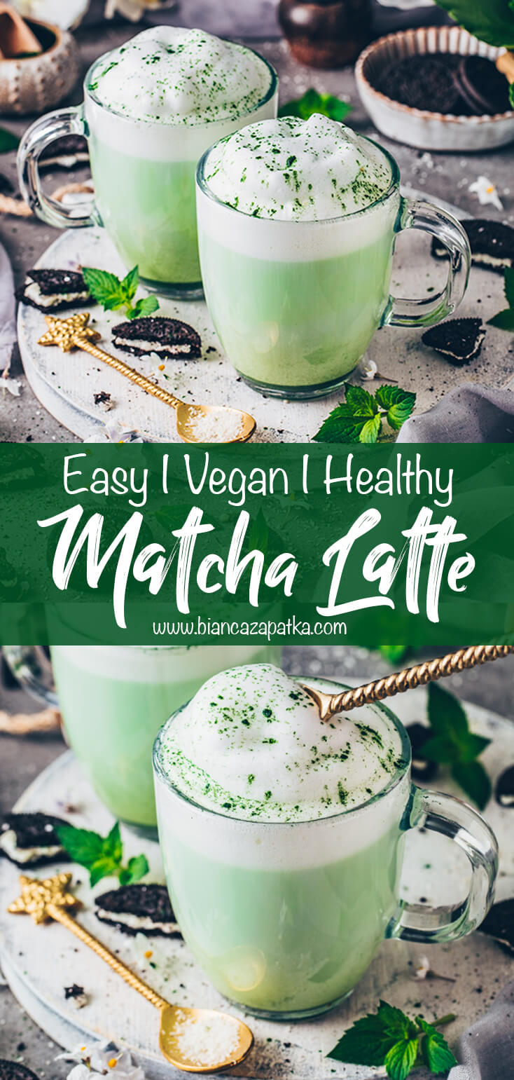 Vegan Matcha Latte (Green Tea Frappuccino)