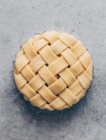 Mürbeteig, Pie Gitter
