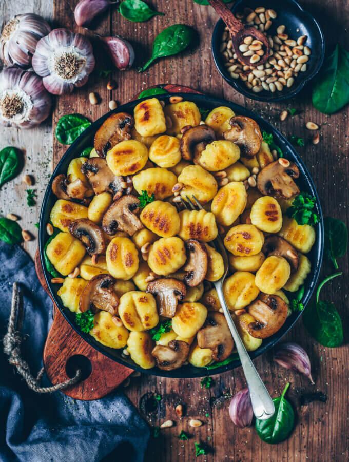 Vegane Gnocchi
