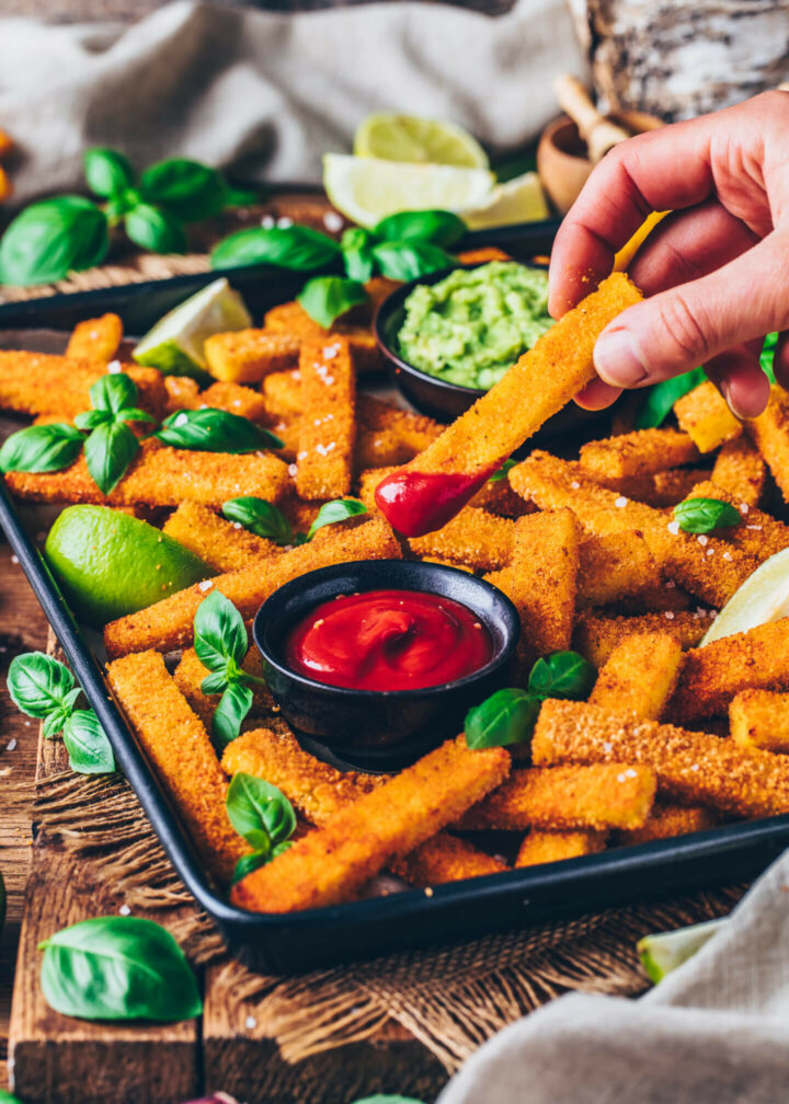Vegan Polenta Fries
