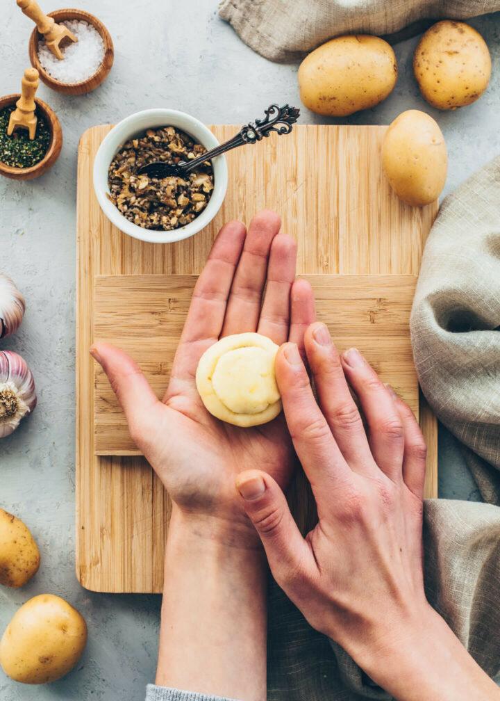 Vegan Potato Dumplings