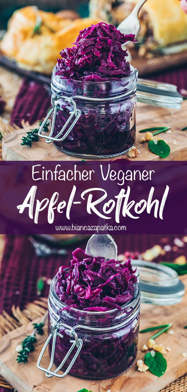 Apfelrotkohl Rezept (Apfel-Rotkraut)