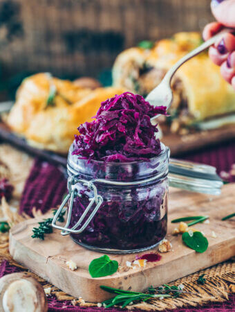 The Best Braised Red Cabbage