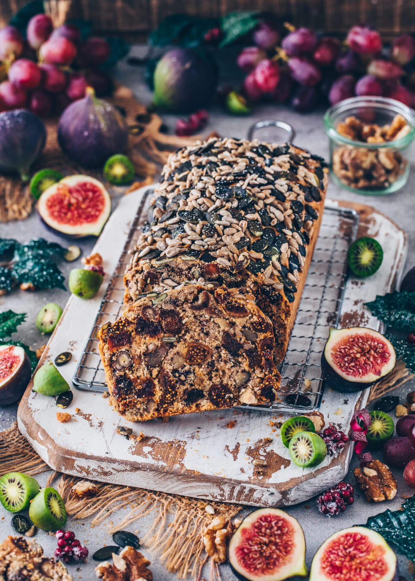Fruit & Nut Bread (Moist Tea Loaf)