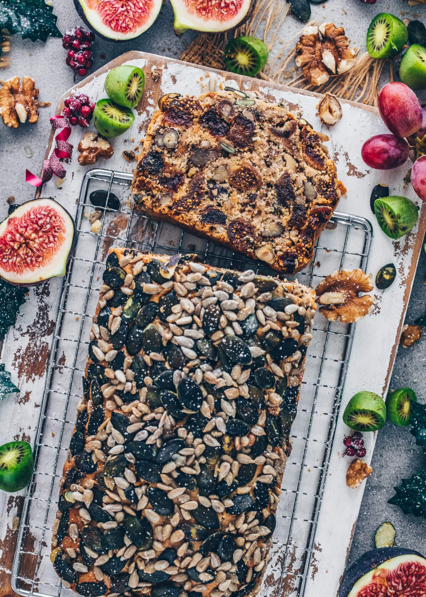 Vegan Fruit and Nut Loaf