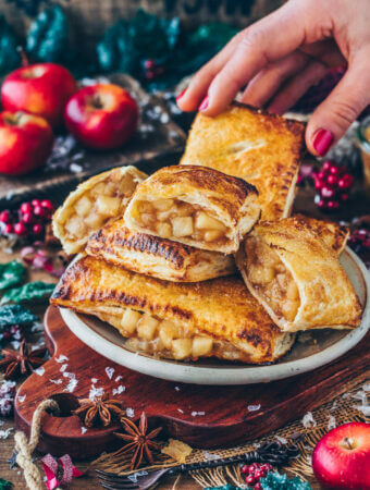 Apple Turnovers (Vegan Hot Apple Pies)