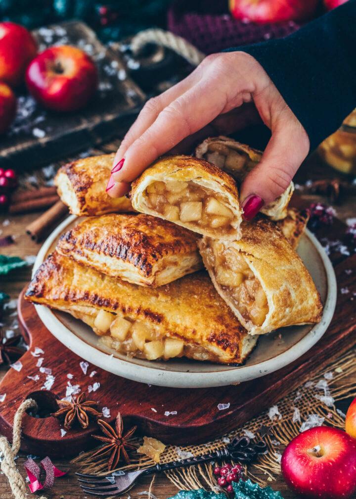 Apple Turnovers (Vegan Hot Pie Pockets)
