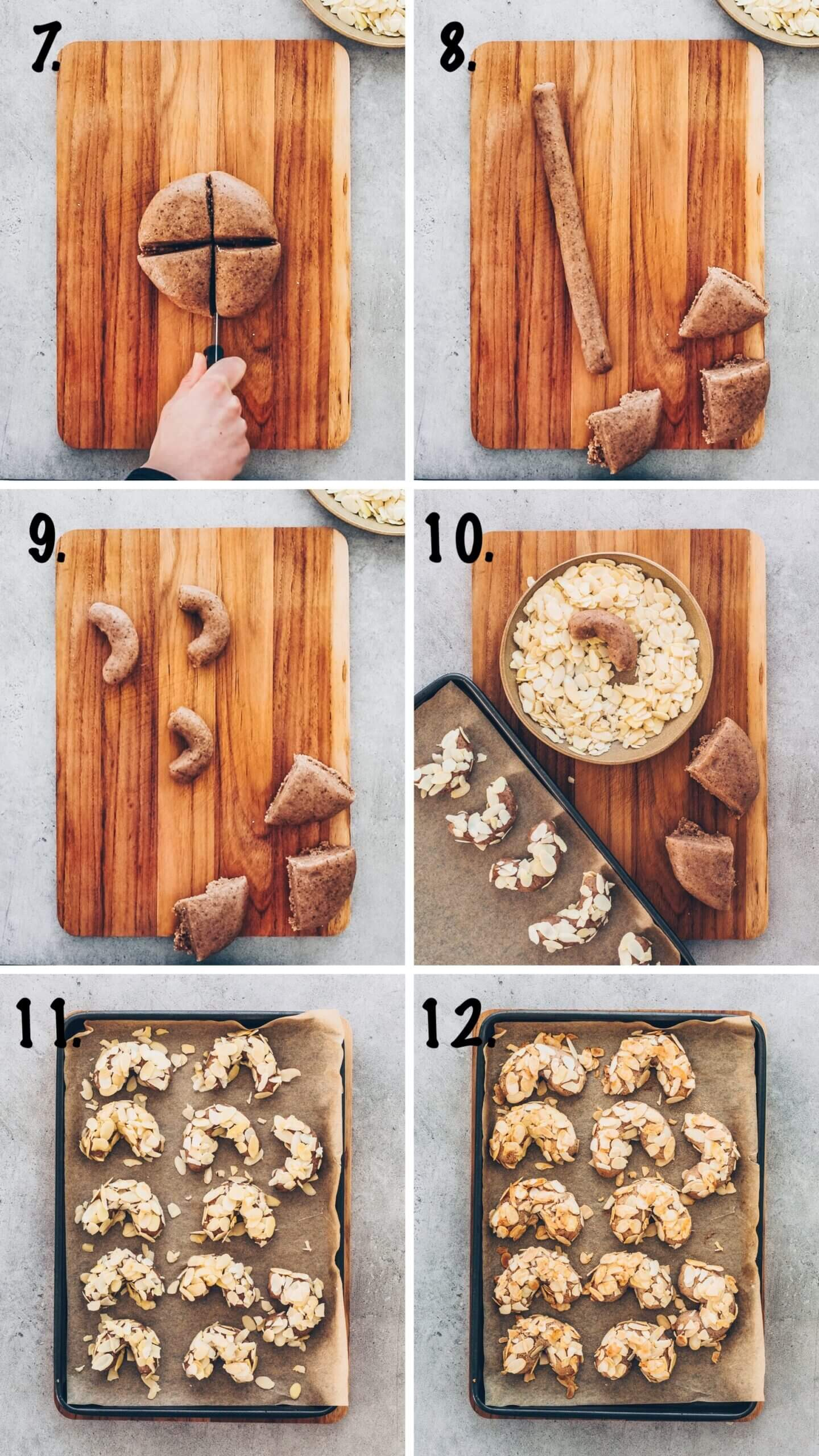 Almond Cookies step-by-step Instruction