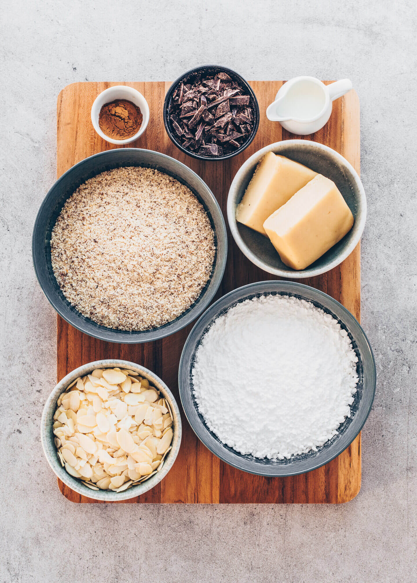 Marzipan Cookies Ingredients