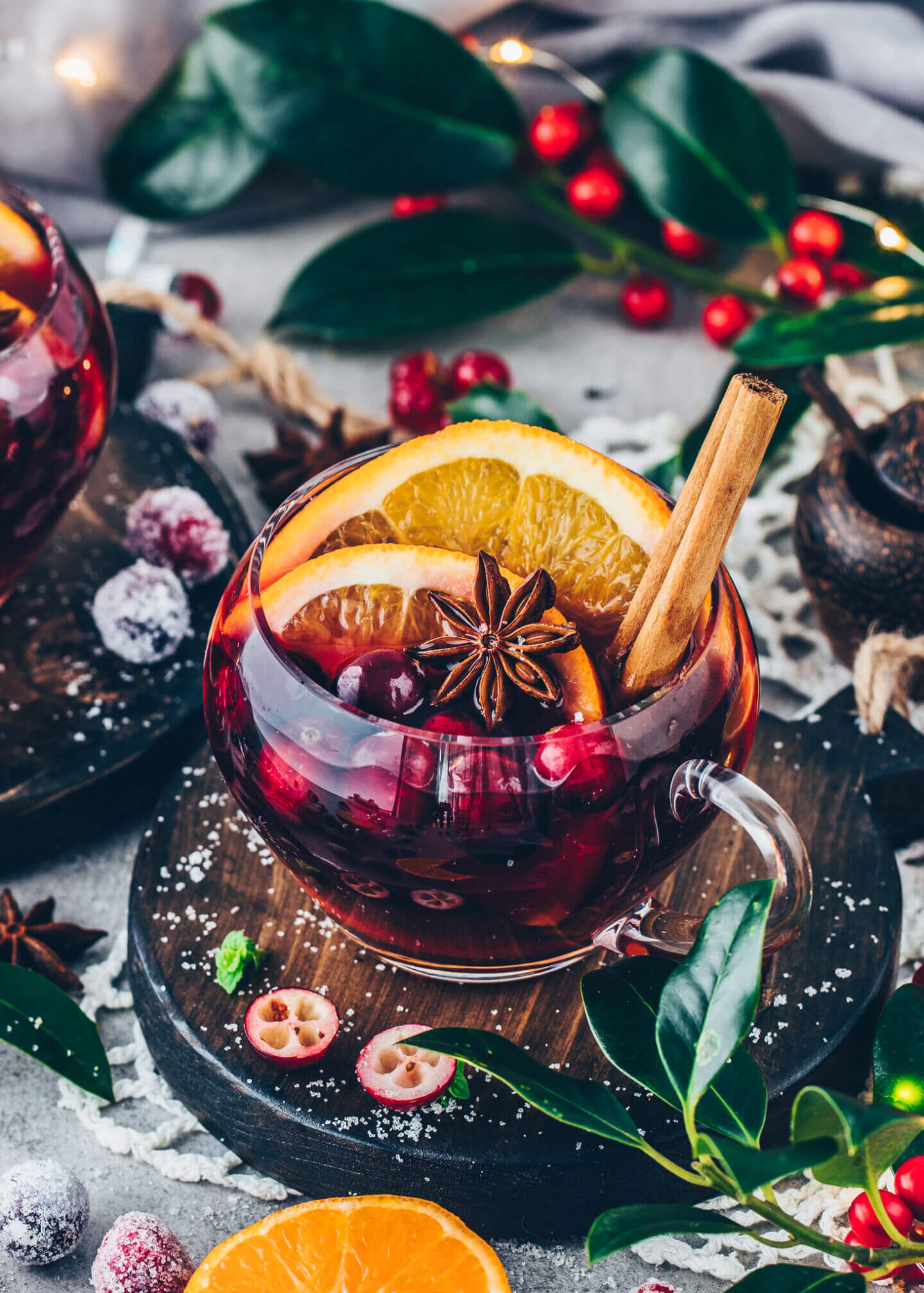 Mulled Wine - Winter Fruit Punch