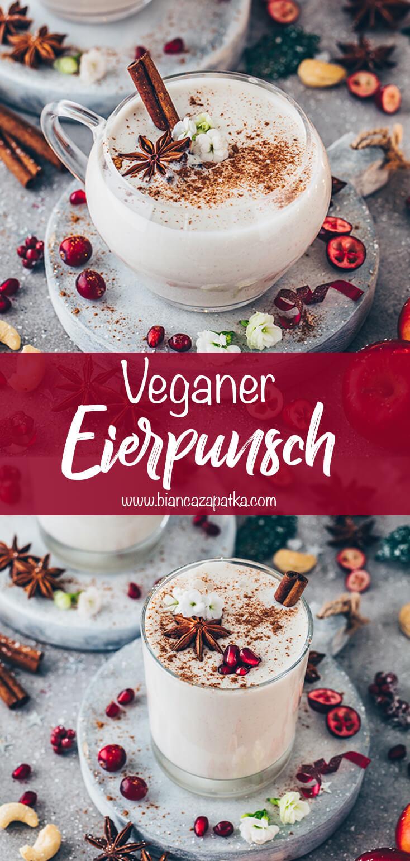 Veganer Eierpunsch (Vegan Eggnog)