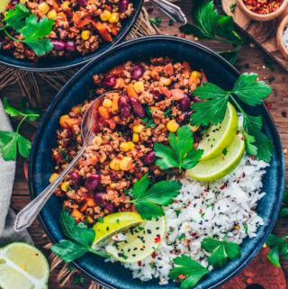 Vegan Chili Sin Carne Recipe