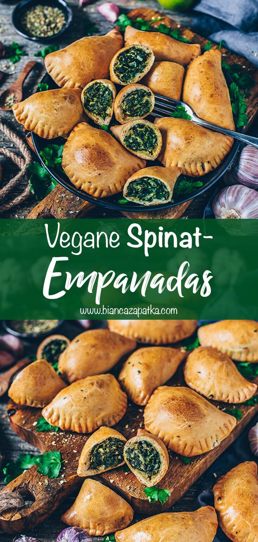 Empanadas mit Spinat (vegan)