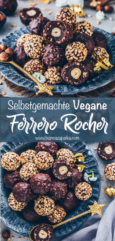Ferrero Rocher Pralinen (Schoko-Haselnuss-Trüffel)