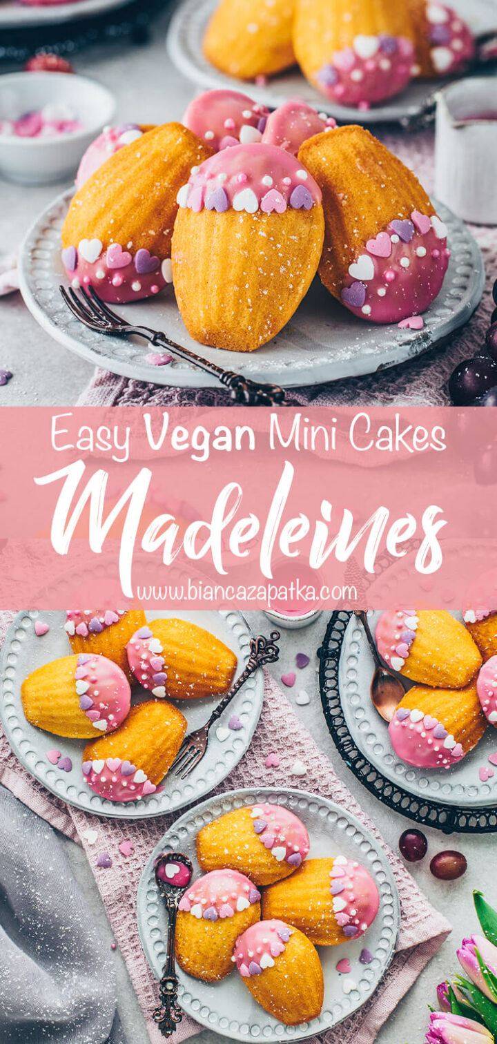 French Madeleine Cookies (Mini Cakes)