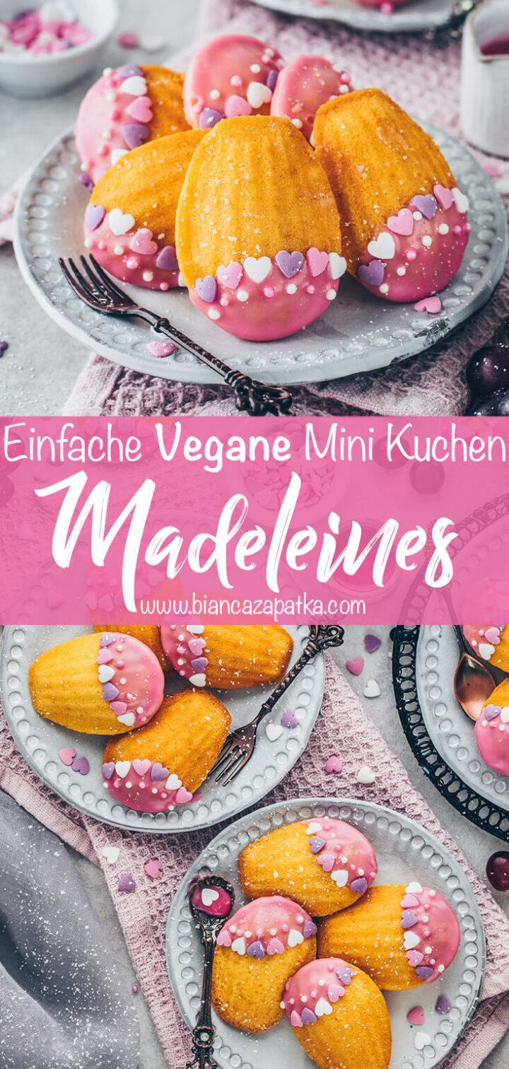 Madeleines Mini-Kuchen Gebäck