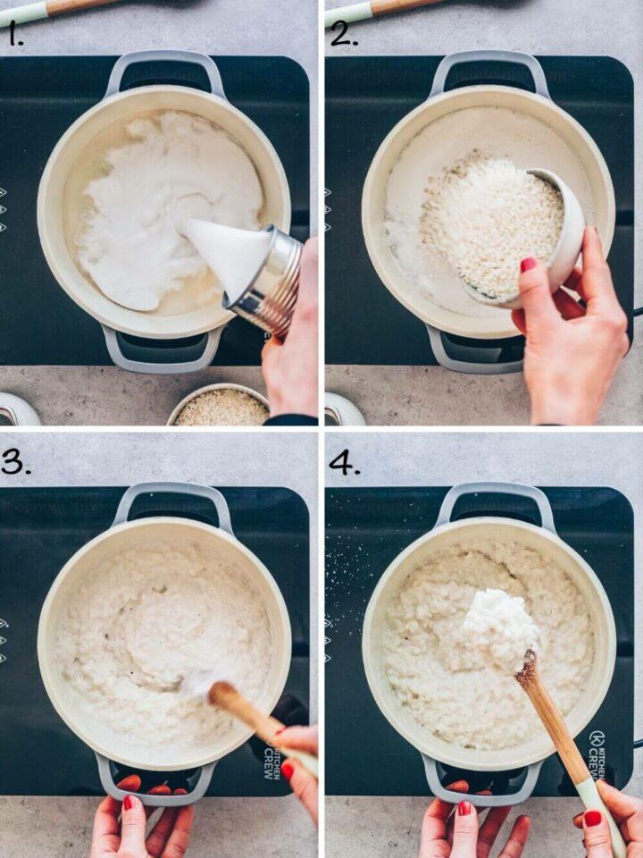 Kokos-Milchreis Rezept selber machen (Schritt-für-Schritt Anleitung)