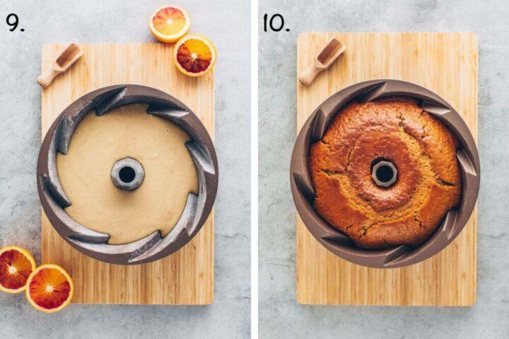 Orangen-Kuchen (Veganer Gugelhupf)
