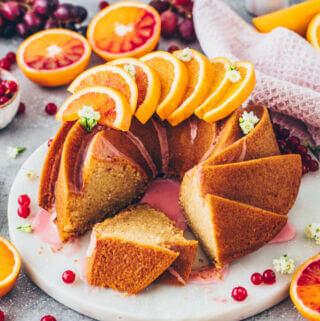 Orange Bundt Cake (Vegan)