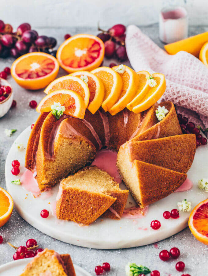 Orange Bundt Cake (Vegan)