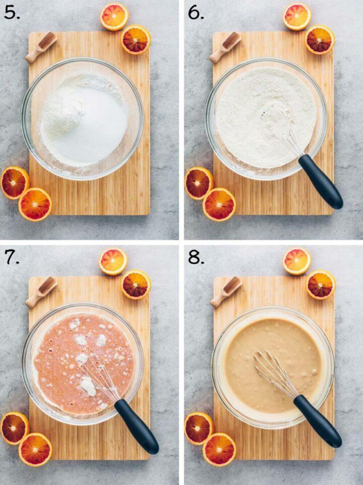 Orangen-Kuchen (Veganer Rührkuchen)