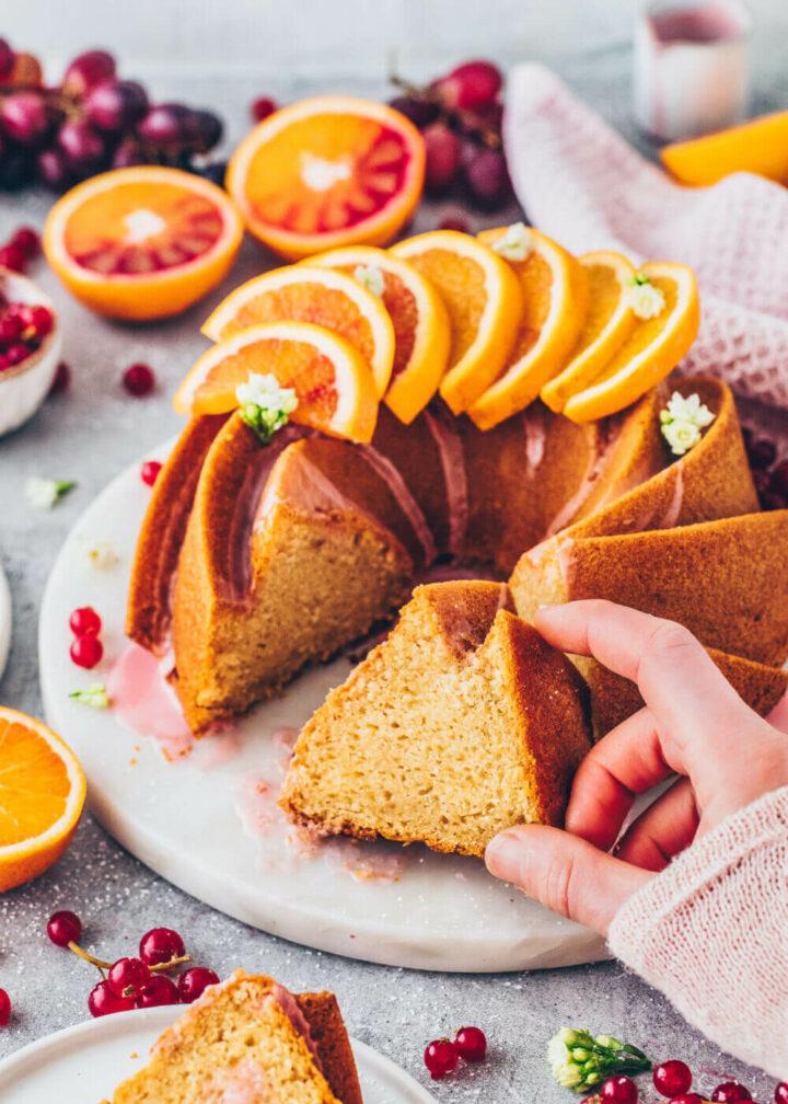 Orangen Gugelhupf Kuchen