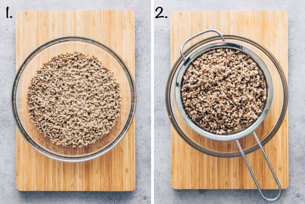 How to prepare vegan mince meat