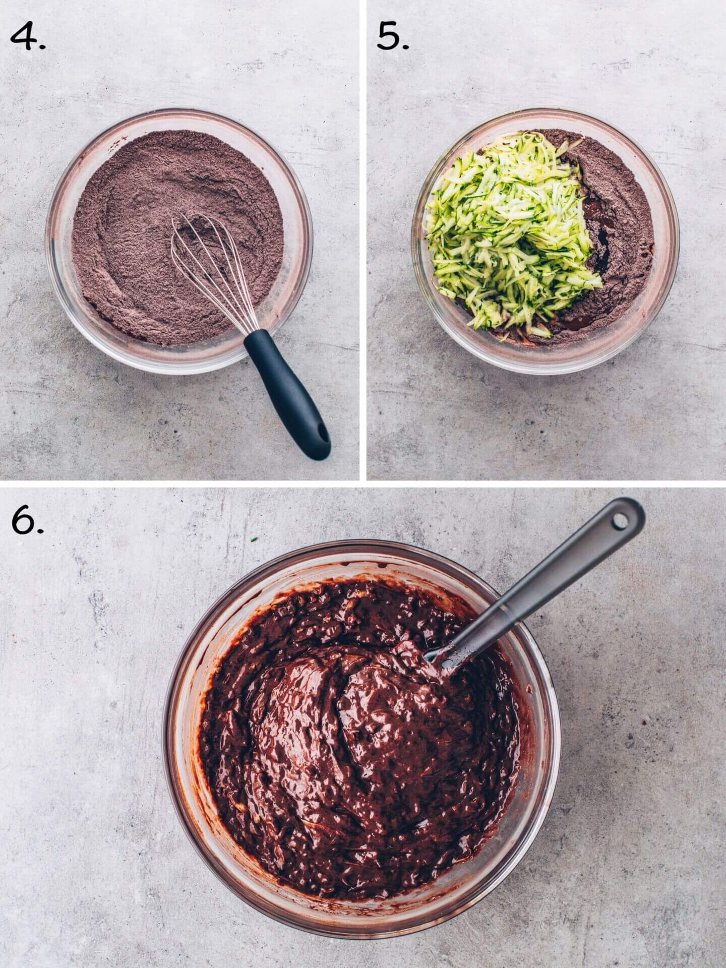 How to make Zucchini Chocolate Brownies step by step