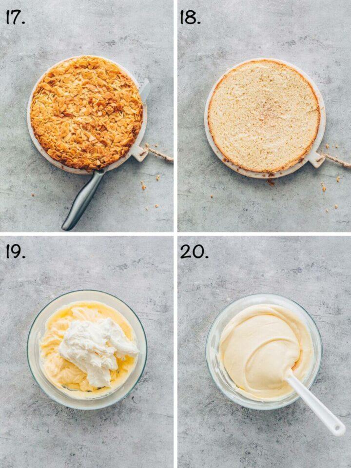 How to make German Bienenstich (vegan bee sting cake) step-by-step