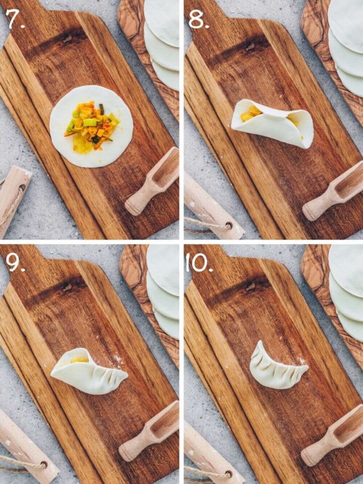 How to make Gyoza step-by-step