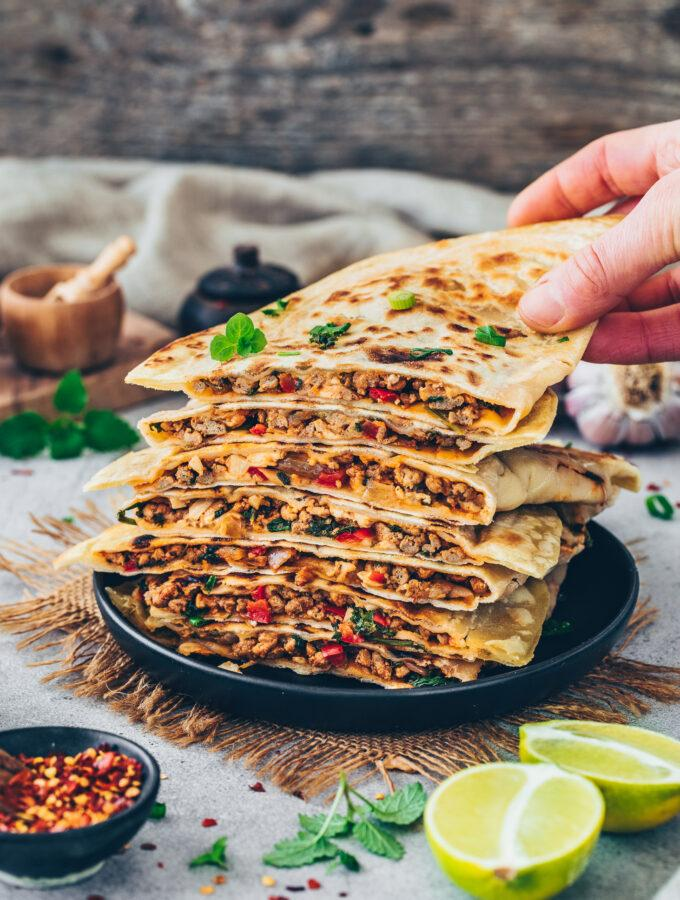 Stuffed Flatbread (Pan Bread)