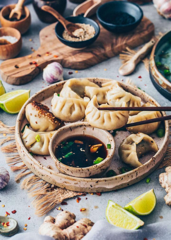 Gyoza Potstickers Dumplings