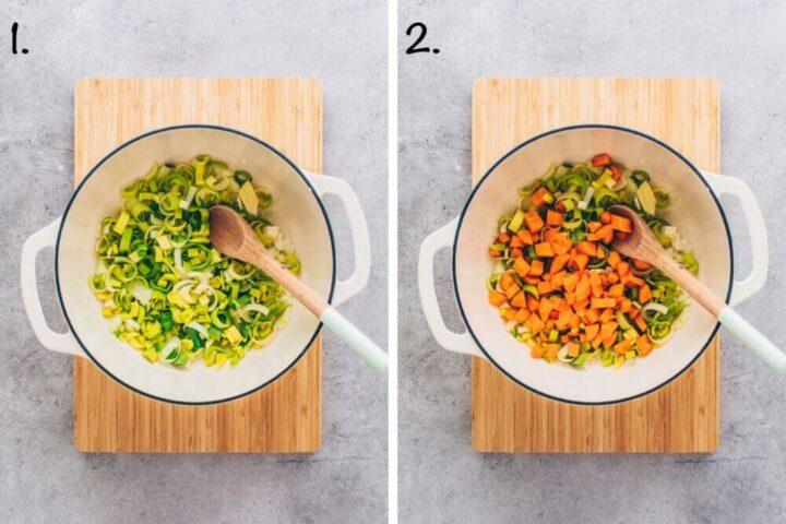 How to make Lentil Vegetable Soup