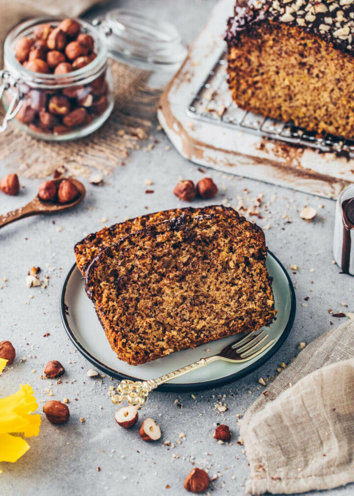 Hazelnut Cake (Chocolate Nut Bread)