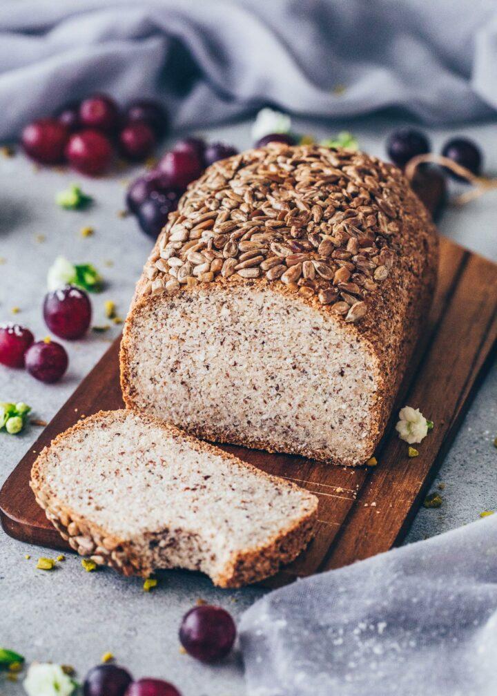 Vegan Keto Bread Loaf