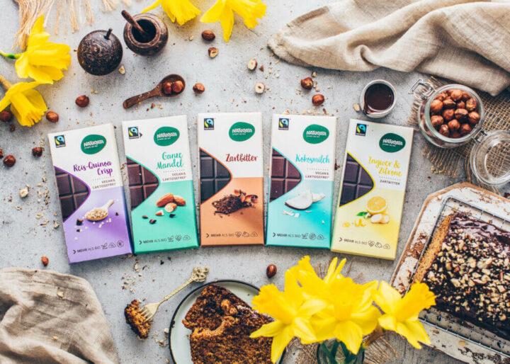 Vegane Schokolade (Fairtrade, Bio, klimaneutral)