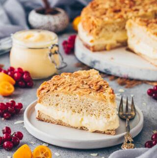 Bee Sting Cake - German Bienenstich Kuchen