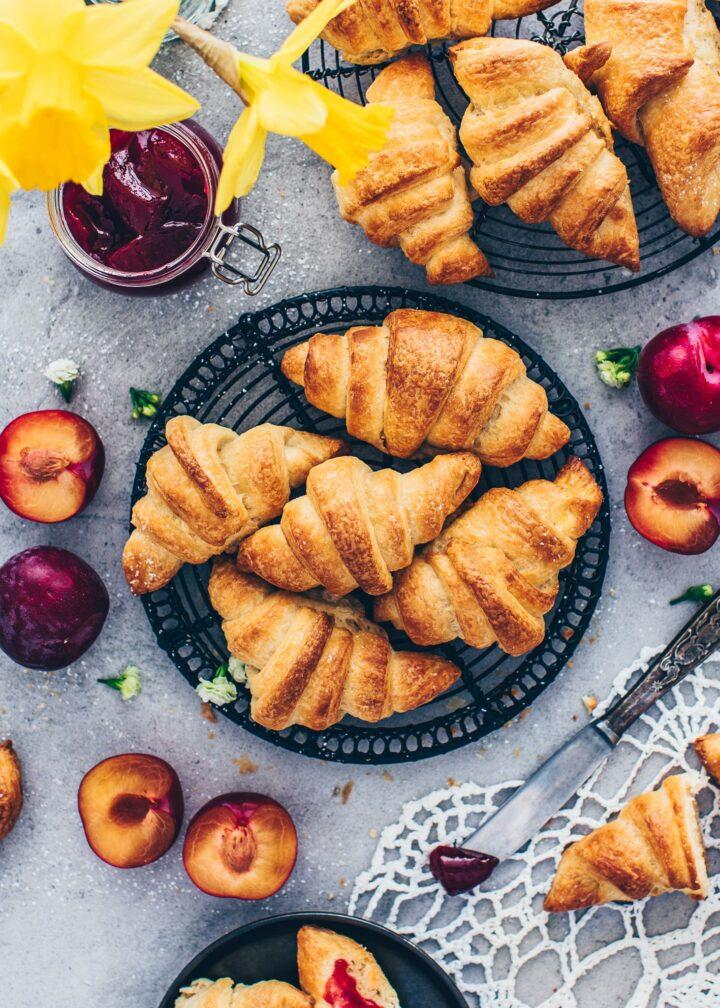 Vegan Croissants (food photography, food styling)