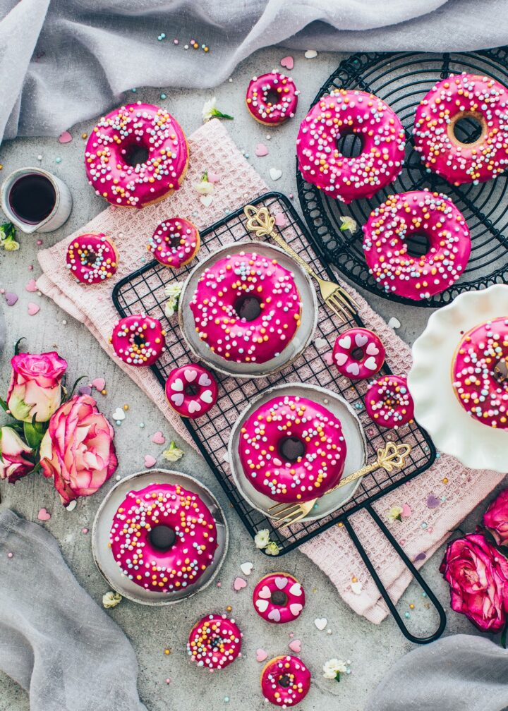 Donuts (food photography)