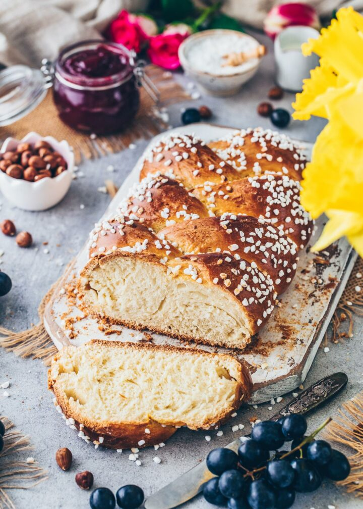 Braided Easter Bread (Challah)