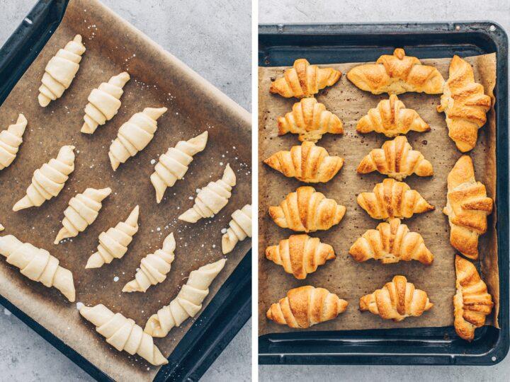 Homemade Mini Croissants
