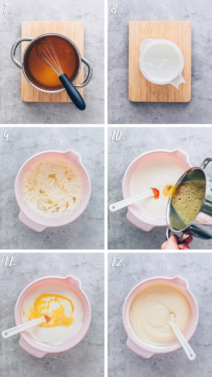 How to make Vegan Cheesecake with agar powder