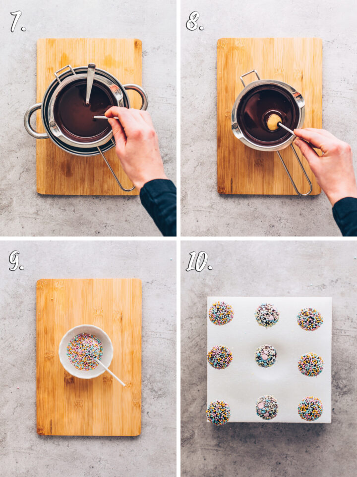 Cake Pops step-by-step instruction