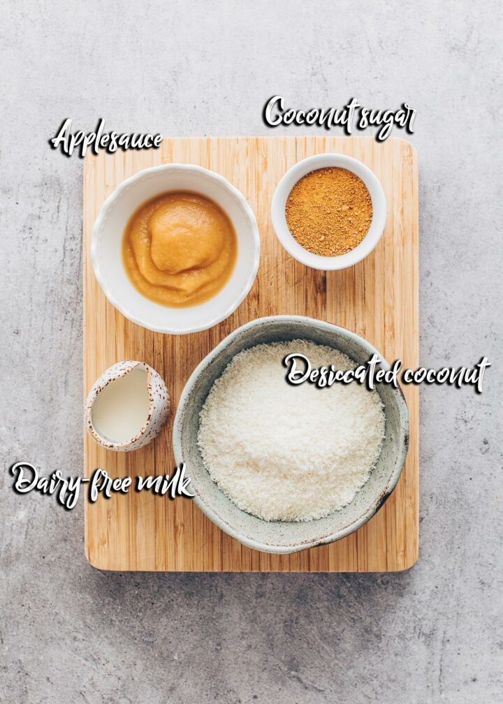 coconut topping ingredients